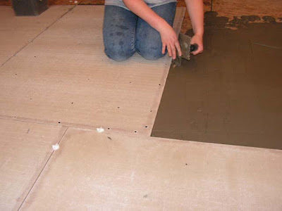 How To Matthew Install Backer Board Before Laying Tile