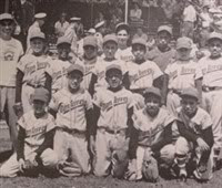 The original Monterrey baseball team in 1957 - Perfect Game