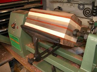 Ben Krasnow Lathe Turned Wood Vase
