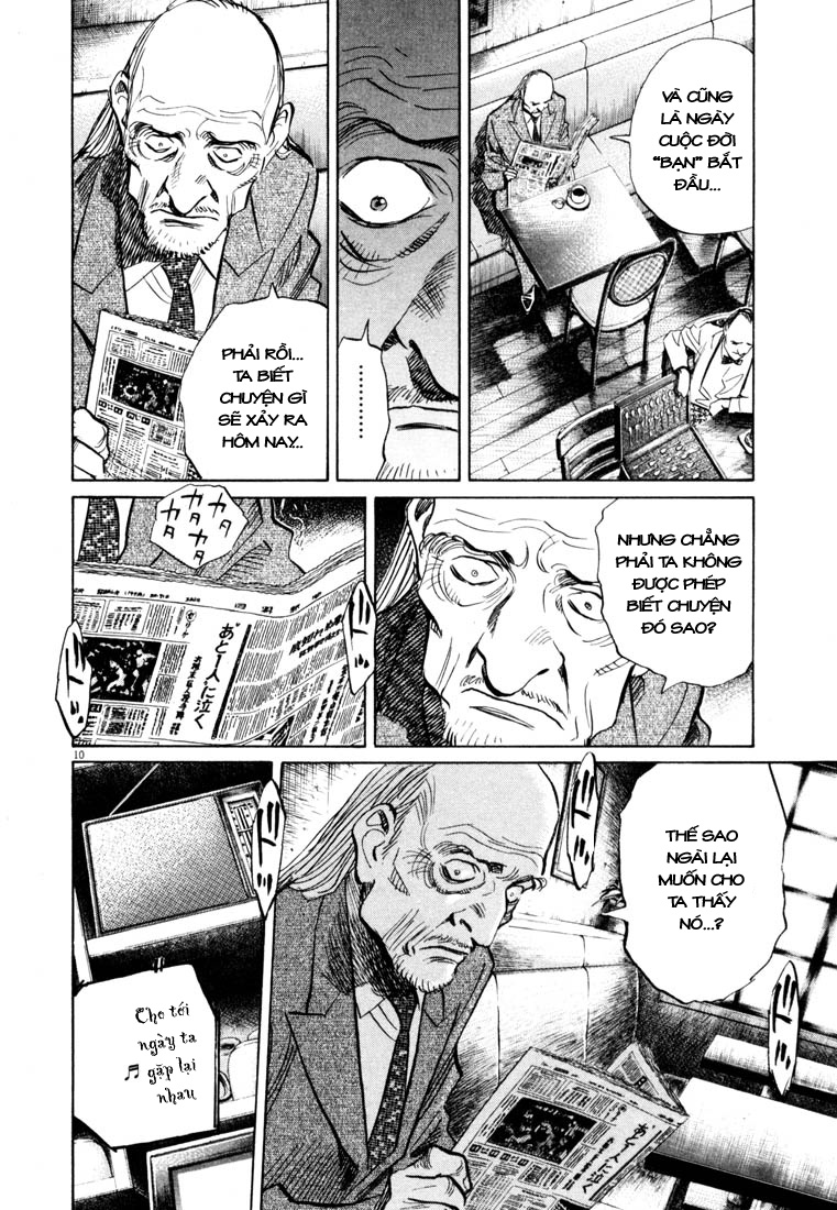 20th Century Boys chapter 151 trang 21