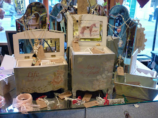 Vintage Princess Accessories are available upstairs in City Attic where maker Laura Rutter has her own worksho