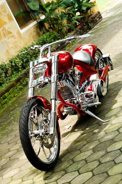 Modif Motor Harley Davidson Pro Street Modification