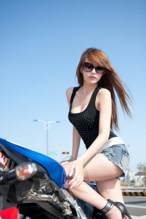 Motorcycle Girl Wallpaper Modif Motor Sexy Asian Motorcycle Models