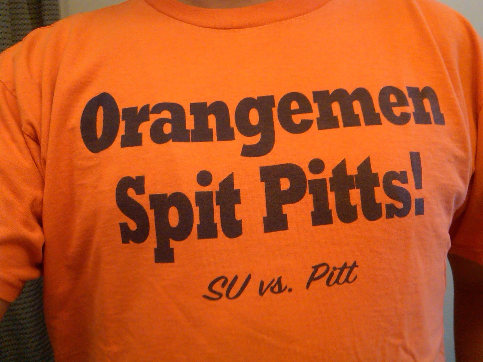 This Saturday at 12PM in the Carrier Dome the Syracuse Orangemen will be  hosting the Pittsburgh Panthers in a Big East conference showdown. The game  caps ... f82422486