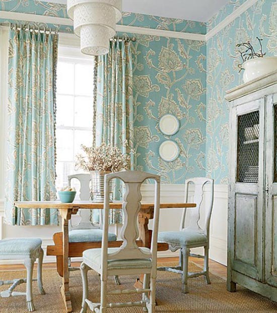 Wallpapers In Home Interiors: Interiors: Classic Room Wallpapers Design