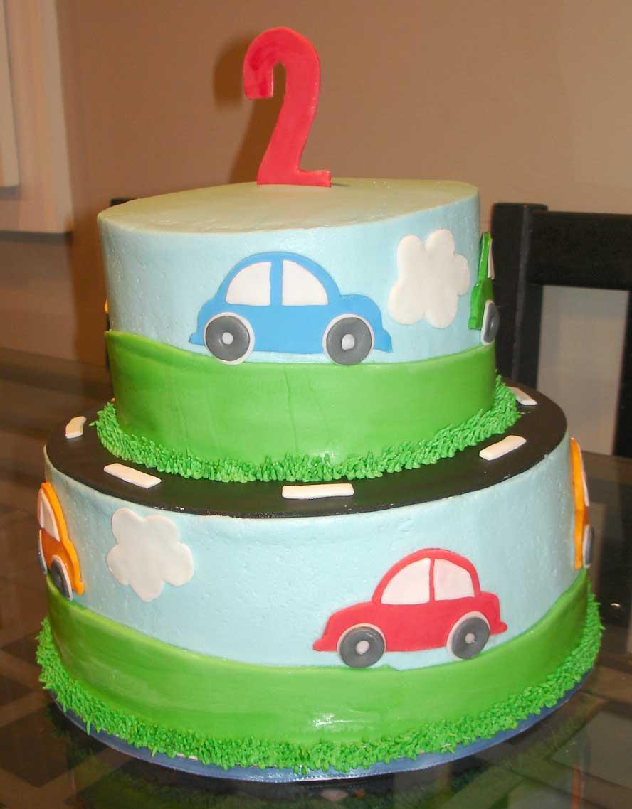 Serendipity Cake Design Cars Cake