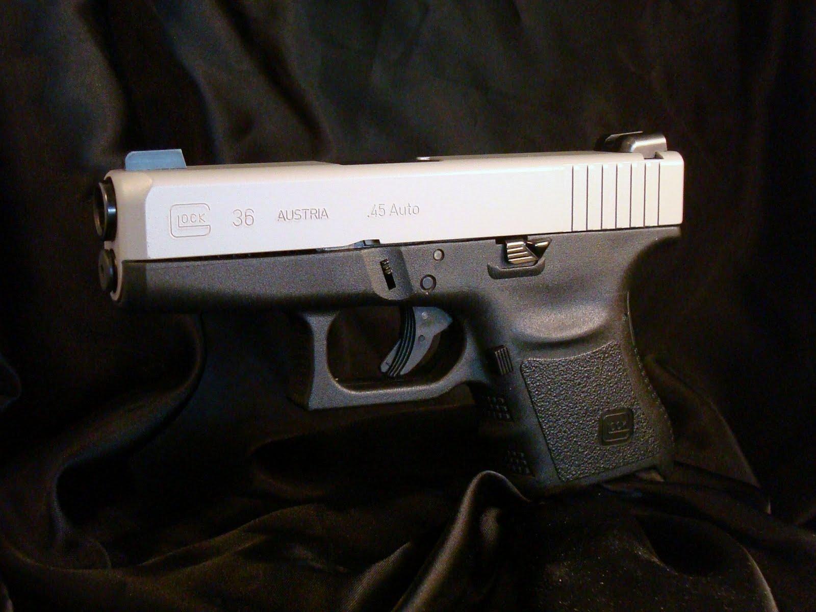 Average Joe's Handgun Reviews: Refinished Glock 36 Slide