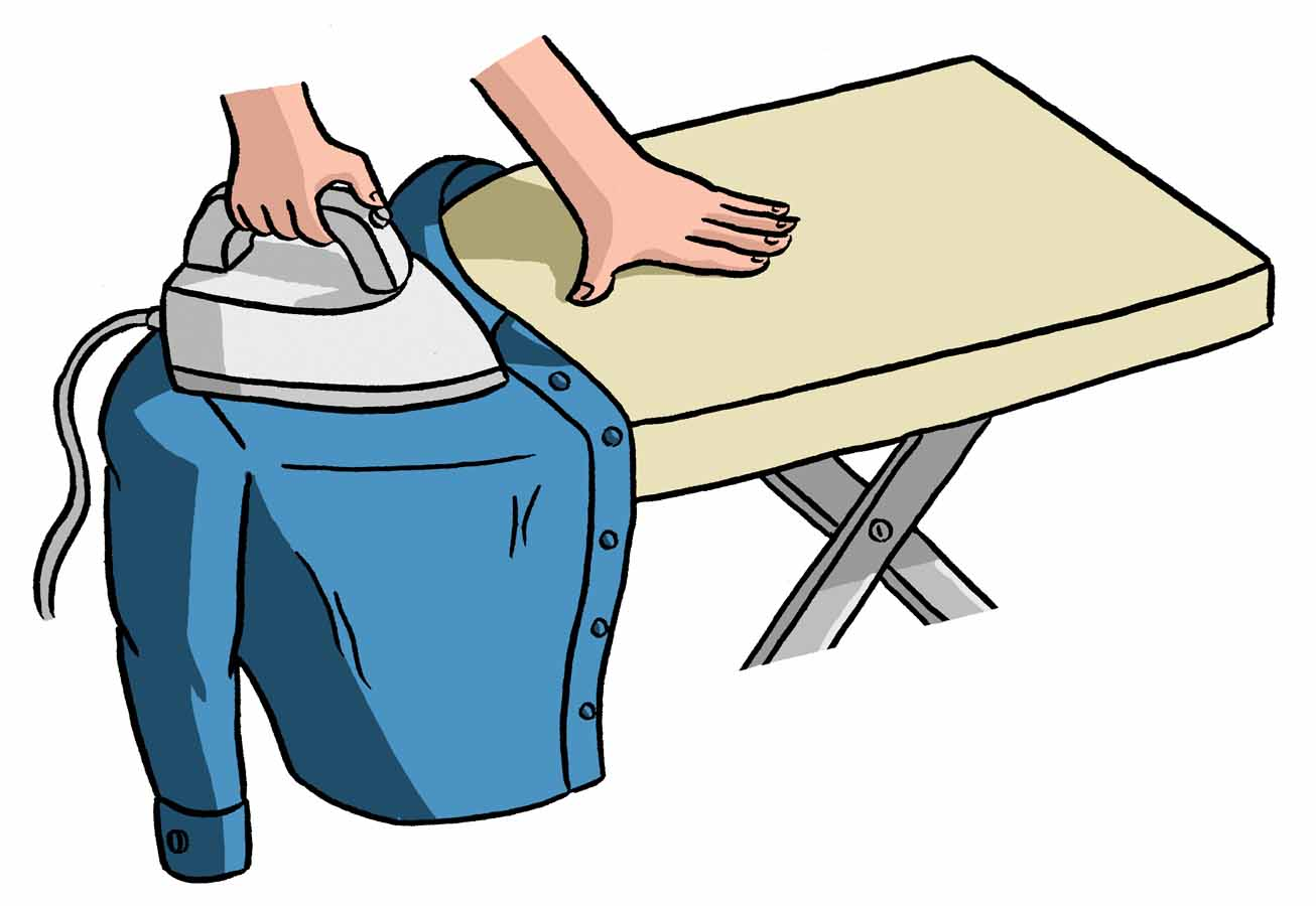 How to Iron a Shirt Step by Step