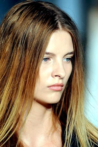 Hair Color Corner: Brunette Summer Ombre Hair Color