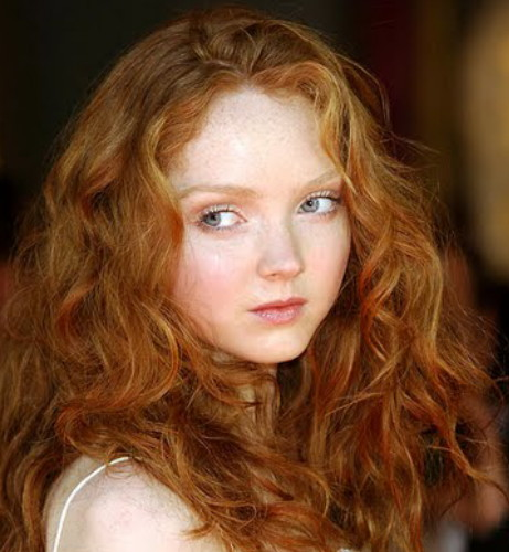 Natural Redhead Teen Model Pale 72