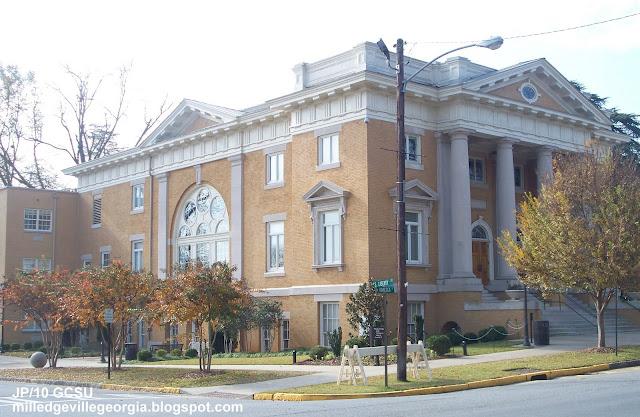 Milledgeville Georgia Gcsu Gmc College Restaurant Menu Attorney Bank Hospital Church Baldwin