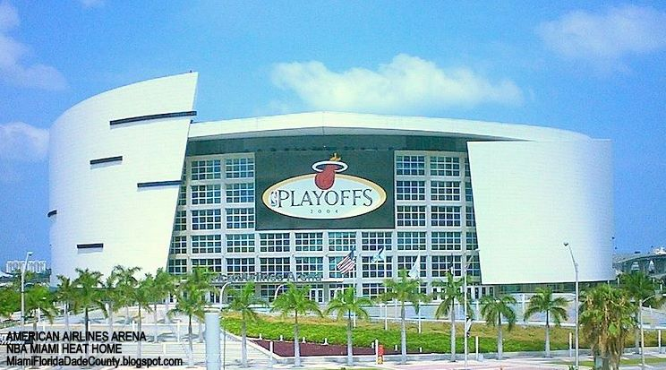 Miami Heat Nba Pro Basketball Team Florida Dade County Fl American Airlines Arena