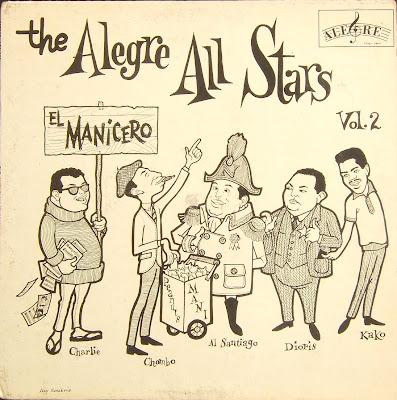 Latin Vinyl Junkie Lvj The Alegre All Stars Vol 2 El