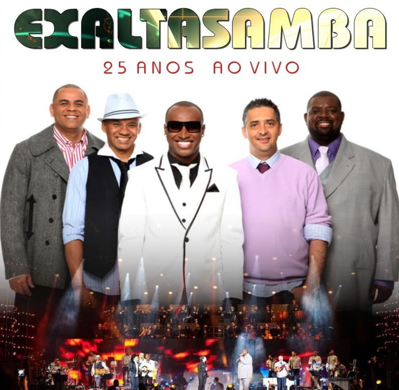 cd exaltasamba 25 anos 4shered