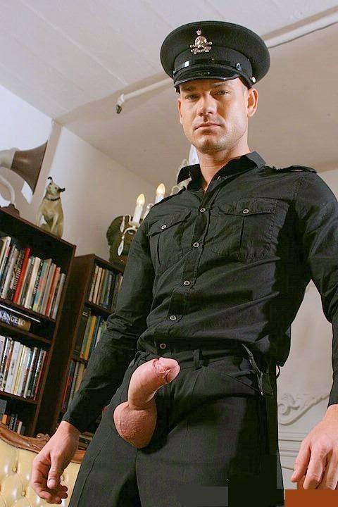 Gay police cocks