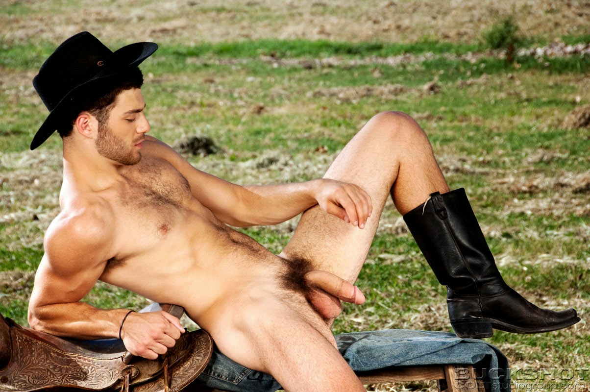 Naked gay cowboys sucking