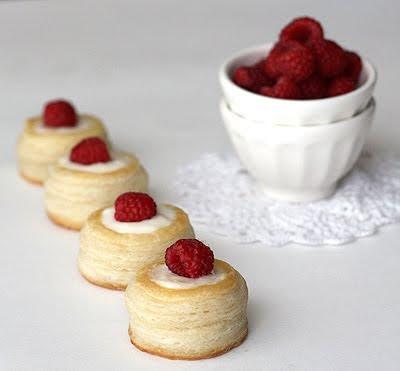 Vanilla Lemon Custard Vols Au Vent La Fuji Mama La Fuji Mama