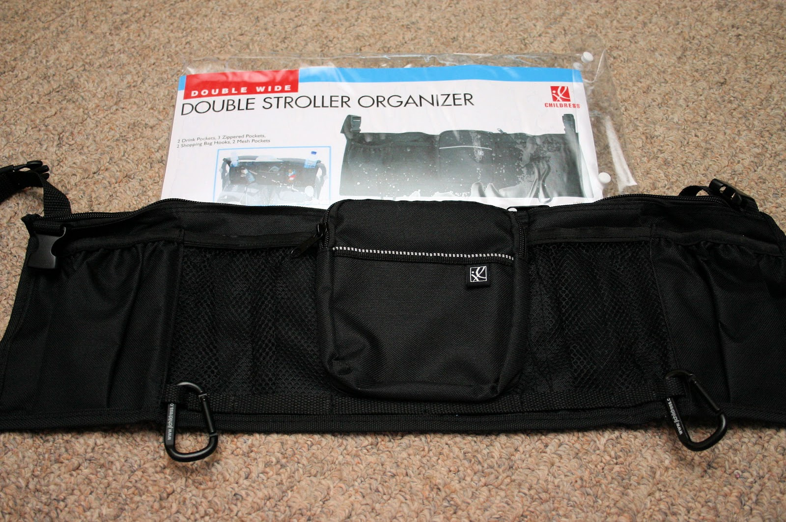 The Double Stroller Organizer Will Help Me Keep Everything At My Fingertips From Drinks To Phones Diaperore This Is Ready