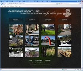 Gardens Of Growth In Indianapolis New Web Site Indianapolis Web