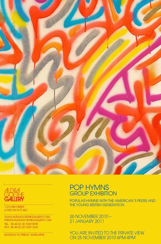 Art Splash: Pop Hymns - Alexia Goethe Gallery - London