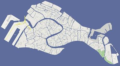 Cartina Venezia Dettagliata.Bluoscar La Mappa Di Venezia