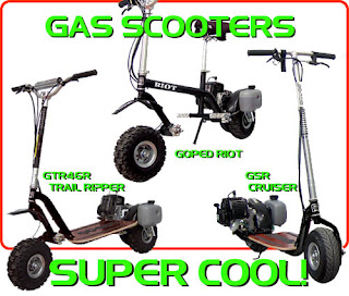 Gas Scooters: January 2009