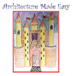 """Architecture Made Easy""  Art Lesson Plan. 23-page PDF Booklet. $5"