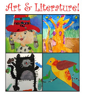 """Art & Literature"" Lesson Plan. 33-Page PDF Booklet. Only $5!"