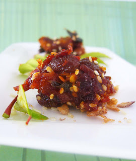 Acar Ikan Masin/ Salted fish Pickle