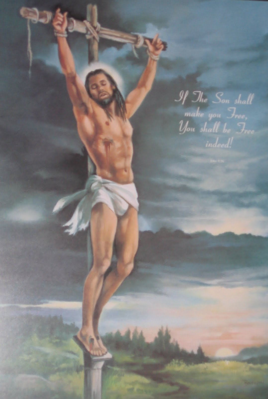 Crucified was naked jesus