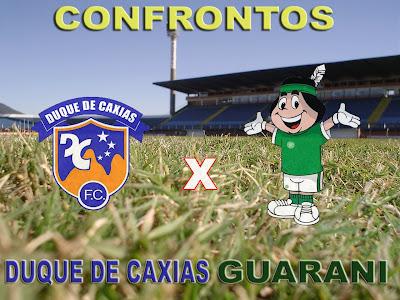 Assistir Duque de Caxias x Guarani ao vivo 20h30 Brasileirão Série B