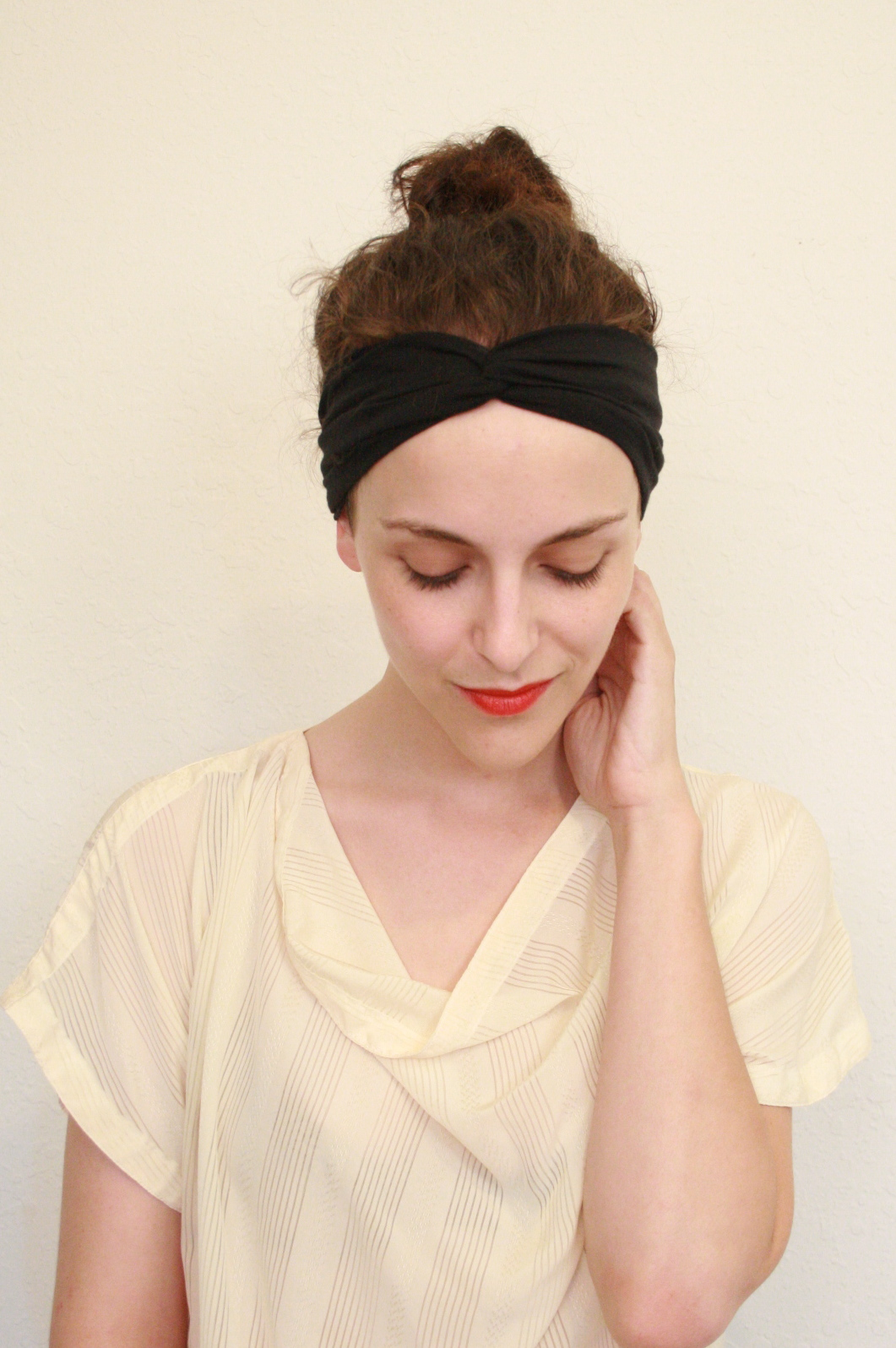 Twitch Vintage Get Your Joan Collins On Turban Headband