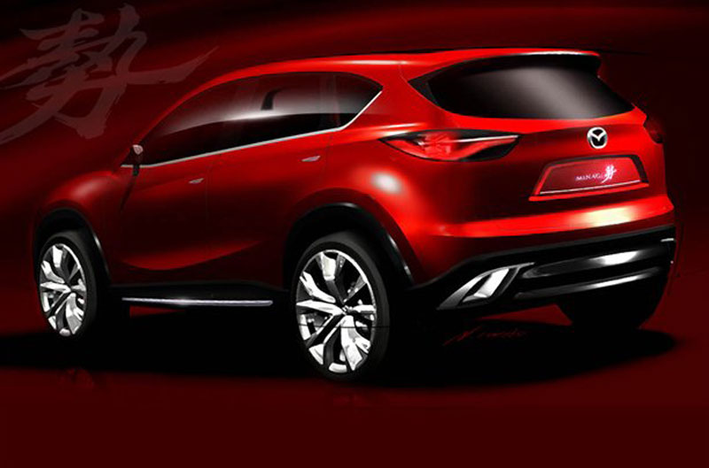 Auto REALIDADE: Mazda Minagi, concept para concorrer com ...