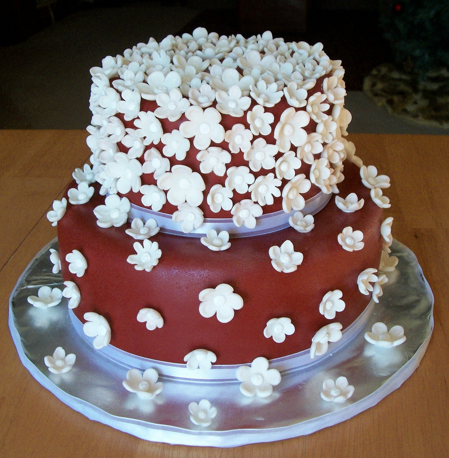 25th Wedding Anniversary Cakes: Bellissimo! Specialty Cakes: 25th Anniversary Cake