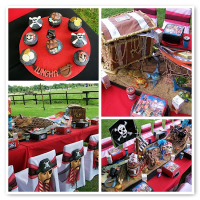 pirate party, kids party, kids birthday party, tablescape, pirate decor