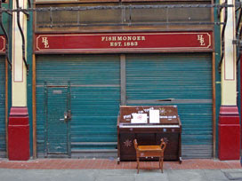 Leadenhall Market piano