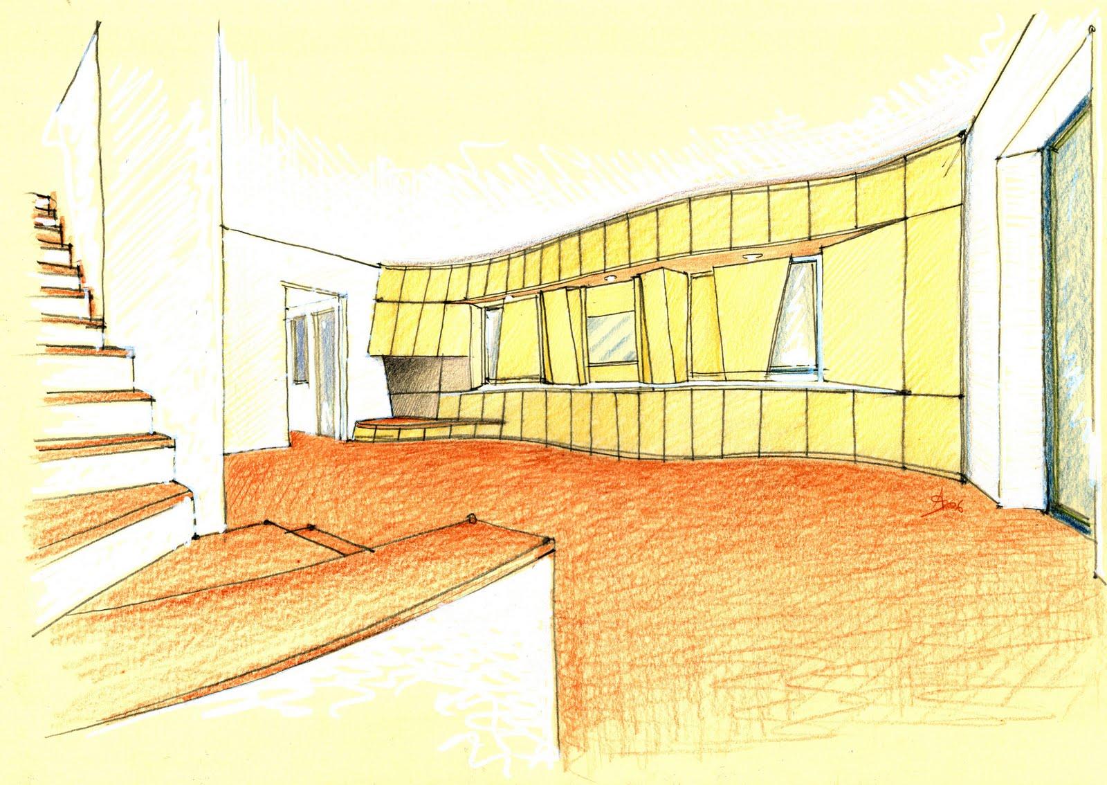 Vent 39 anni di disegni dell 39 arch antonio saporito agosto 2010 for Disegno interno casa
