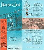 Original Disneyland Hotel Brochure Deviations 1957 1958