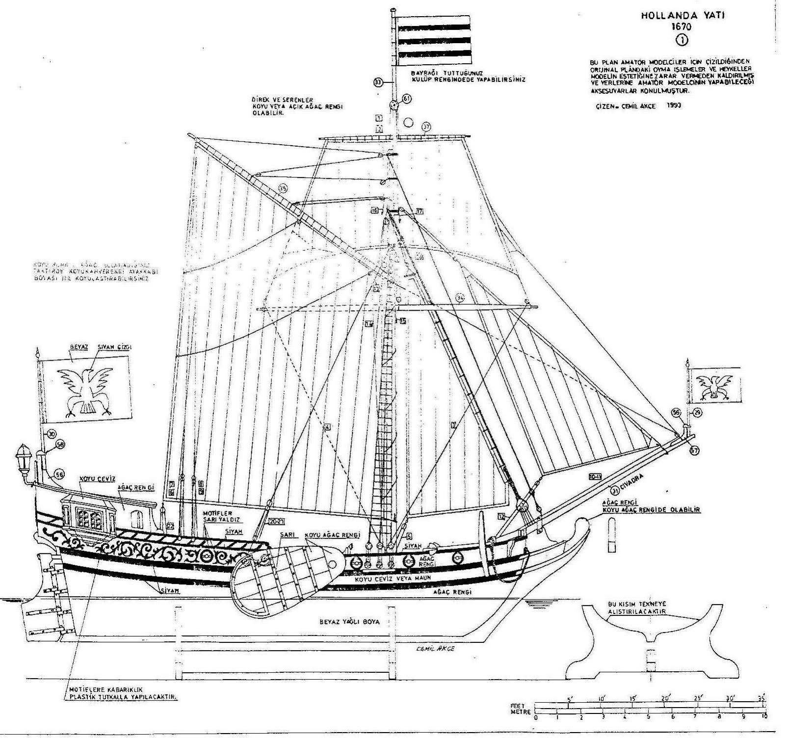 Quinze Marins Sur Le Bahut Du Mort Plan Hollande Yacht