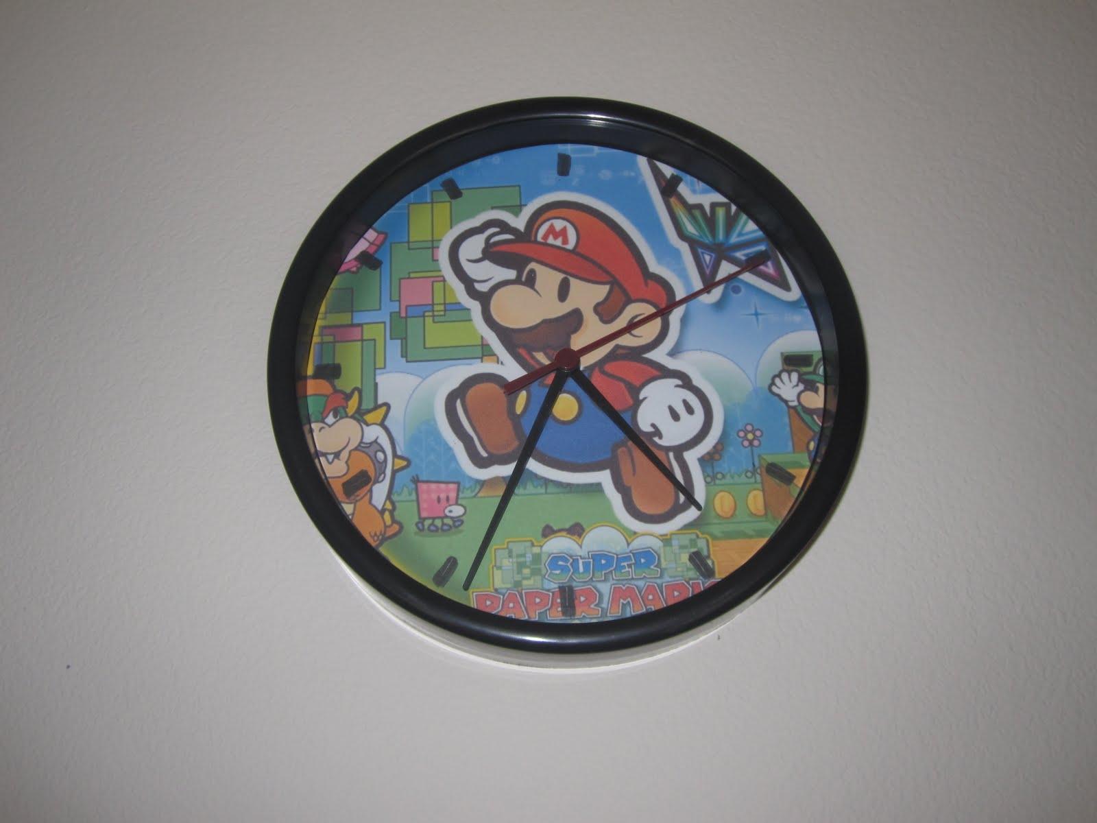 Get Your Nerd Craft On Mario Clock