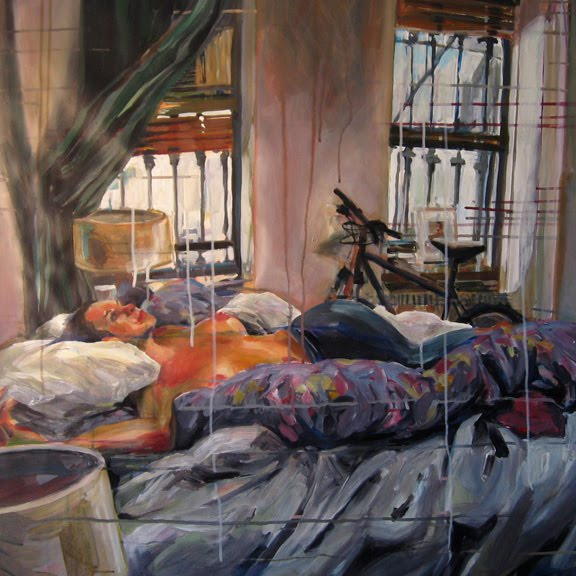 Untidy Bedroom Art: Anna Stump Portfolio: Messy Bedroom
