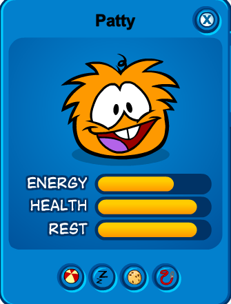 Orange Puffle | Club Penguin Online Wiki | Fandom | 441x335