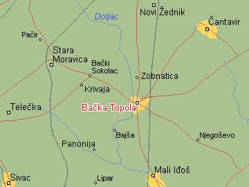 backa topola mapa srbije Per@ Travel: BAČKA TOPOLA backa topola mapa srbije