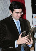 Vladimir Kramnik galardonado con el Oscar del Ajedrez 2007