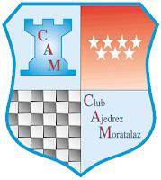 El escudo del Club de Ajedrez Moratalaz