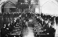 Pillsbury antes del comienzo de la exhibición de simultáneas en 1897