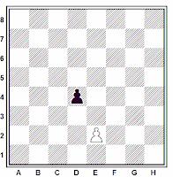 La captura al paso en el ajedrez
