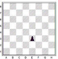 Situación final de la captura al paso en ajedrez