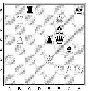 Posición de la partida de ajedrez Seul - Van der Weide (Essen, 2000)