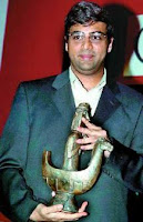 Anand gana el óscar del Ajedrez 2007